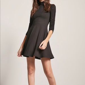 NWT - Mock Neck 3/4 Sleeve Dress